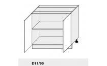 Dolní skříňka kuchyně Quantum D11 90/grey