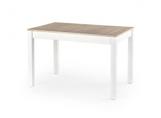 Jídelní stůl MAURYCY dub sonoma/bílý