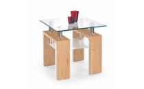 Konferenční stolek DIANA H čtverec dub zlatý