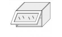 Horní skříňka EMPORIUM W4bs 60 WKF sklo bílá